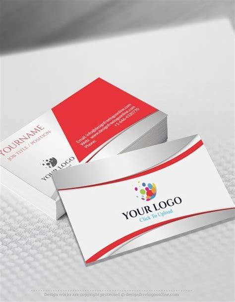 business card maker template create your own business cards with the free business card