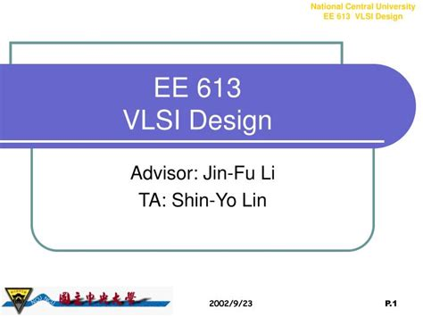 vlsi layout design software free download ppt ee 613 vlsi design powerpoint presentation id 5150325