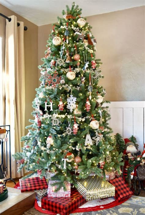 christmas tree in living room airstone fireplace makeover make life lovely