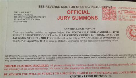 Jury Service Letter Envelope Jury Duty Quotes Quotesgram