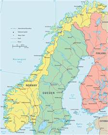 Norway Europe Norway Map Pictures To Pin On Pinterest Pinsdaddy