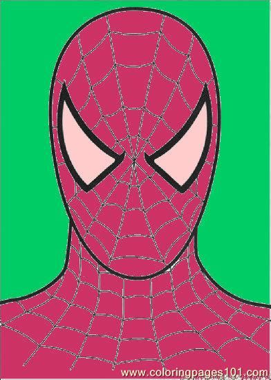spiderman head coloring page coloring pages head of spiderman cartoons gt spiderman