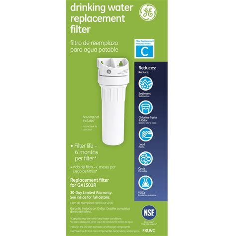 ge under water filter ge fxuvc water filters and ge smartwater fxuvc undersink
