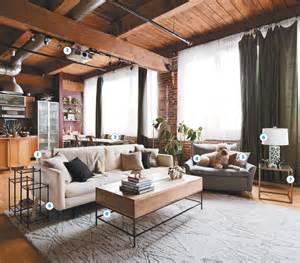 loft living room ideas loft living for newlyweds lofts globe and apartments