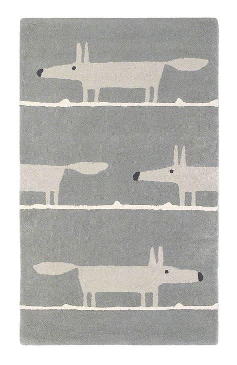 mr rugs mr fox rug by scion silver wallpaper direct