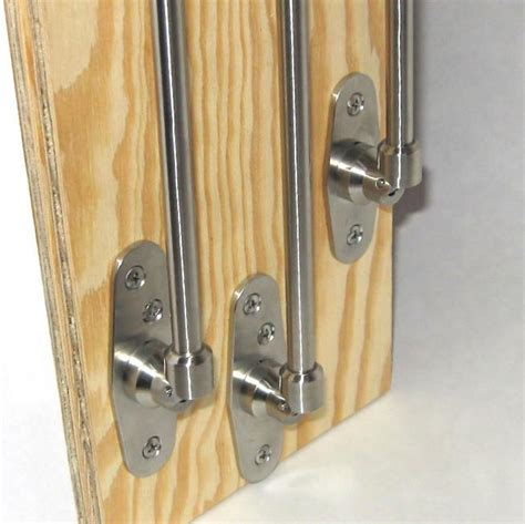 Folding Closet Rod by 11 Inch Folding Clothes Hanger Rod Fast Fold Rod