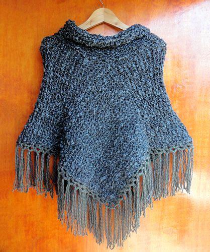 ponchos a palillo poncho tejido con palillos poncho dos agujas knit