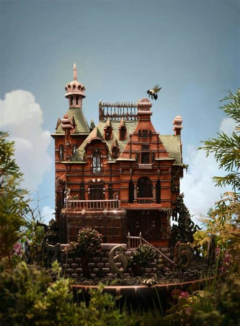 house of peculiar children artist bakes tim burton inspired gingerbread house for new flick ny daily news