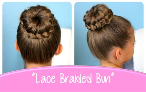 buns hairstyles how to lace braided bun cute updo hairstyles cute girls