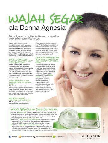 Panci Oriflame wajah segar ala donna agnesia peluang bisnis oriflame