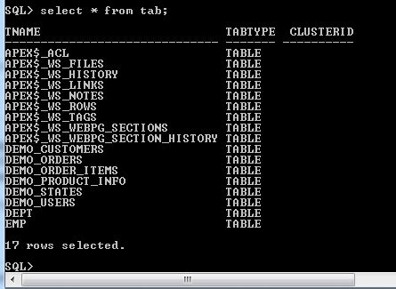 oracle delete table is it safe to delete dummy tables oracle 11g xe database