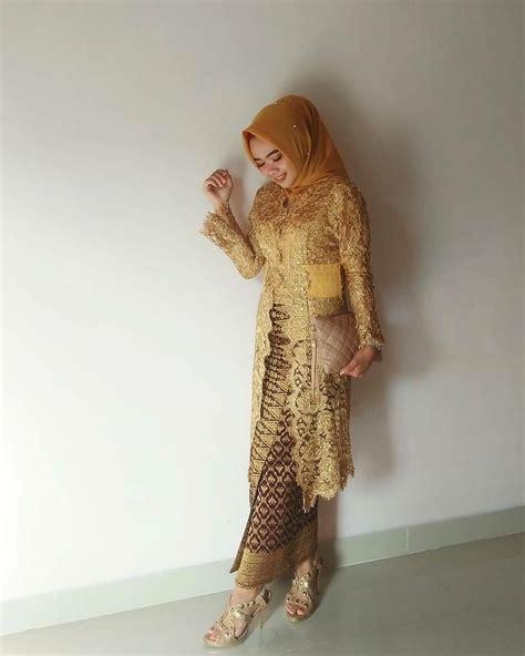 Kebaya Modern Batik by 24 Model Kebaya Batik Modern Inspirasi Wanita Terbaru 2018