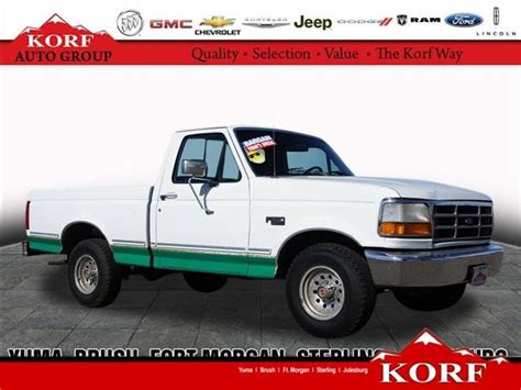 korf auto fort co used 1993 ford f 150 for sale carsforsale