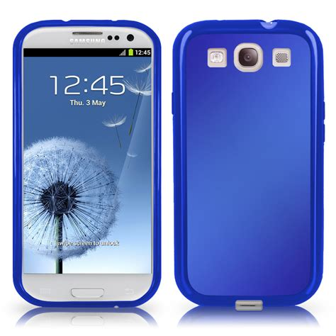Samsung Galaxy S3 Cover Frosted Gel Cover For Samsung I9300 Galaxy S3 Iii