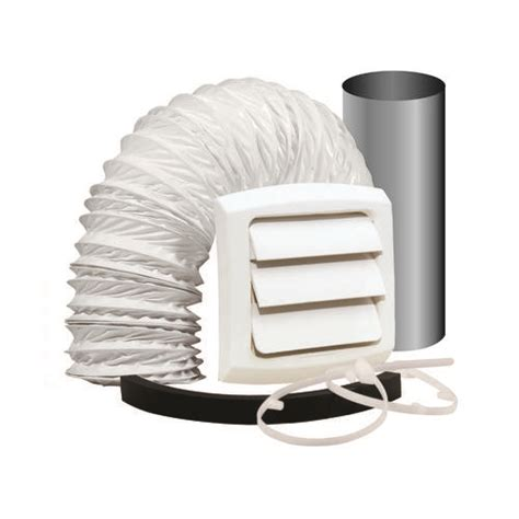 Bathroom Fan Duct Kit Dundas Jafine Wall Style Bathroom Fan Vent Kit With 4 Quot X 5