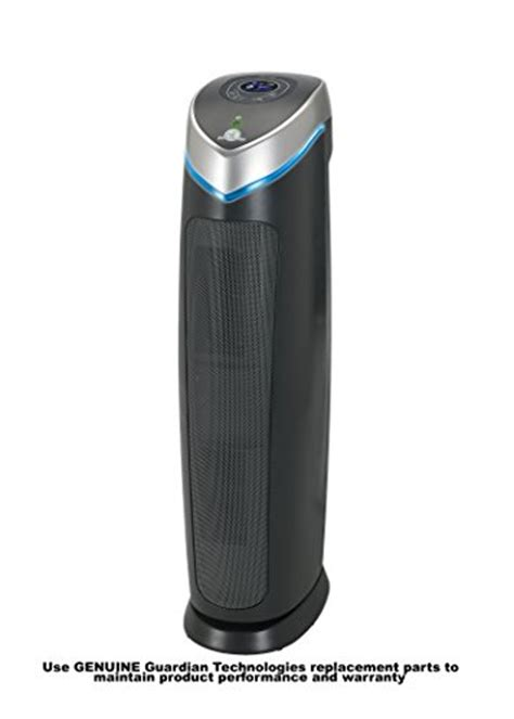 3in1 hepa air purifier system tower uv sanitizer charcoal filter odor reduction ebay
