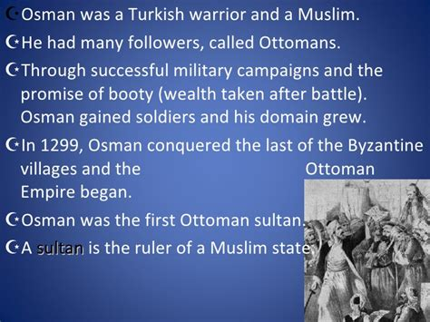 What Were Ottoman Rulers Called Middle East Ottoman Empire