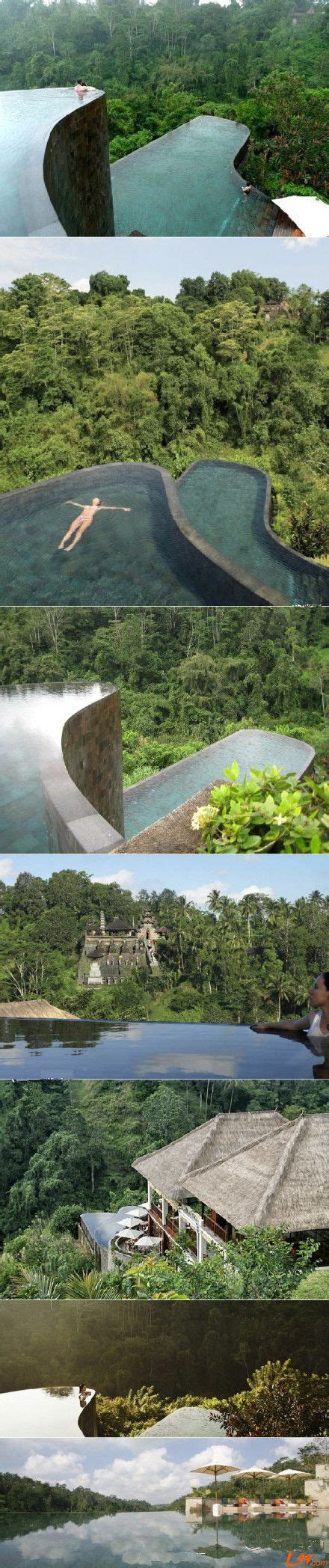 hanging infinity pools bali 1000 ideas about hanging gardens on pinterest gardening