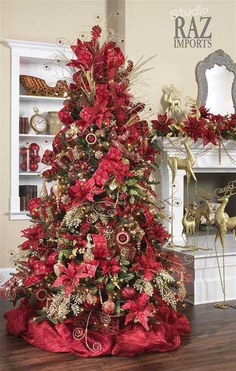 flower theme christmas trees decorating ideas pictures 23 beautiful 128 best red and gold christmas images on pinterest diy