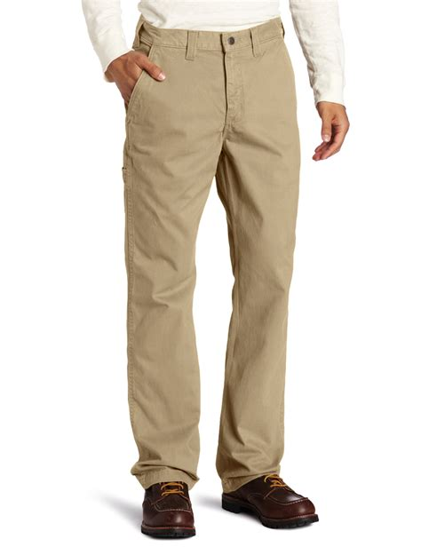 rugged work carhartt s relaxed fit rugged work khaki pant brown