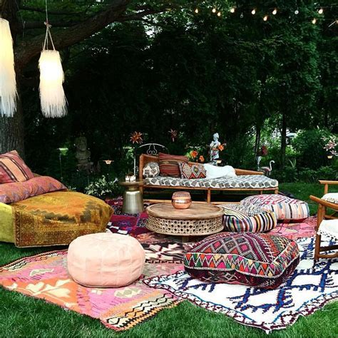 Bohemian Outdoor Decorations You Will Definitely Fall In