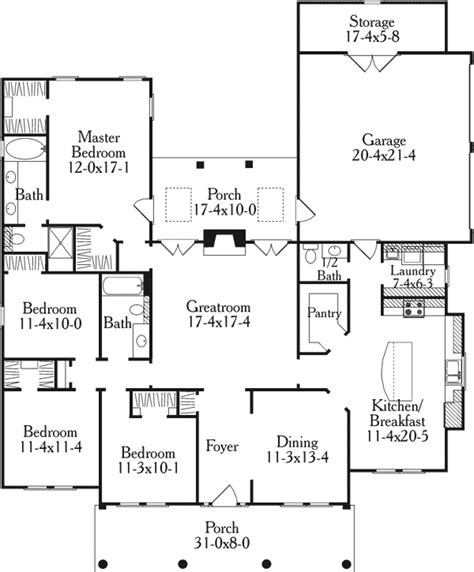 house plans with garage in back house plan 40014 at familyhomeplans com