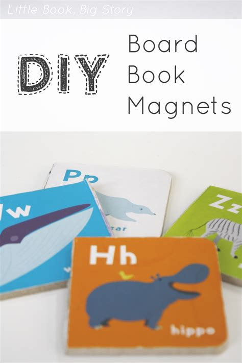 stick and board book books diy board book magnets book big story