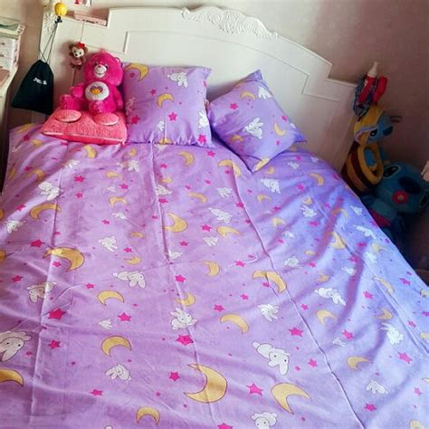 sailor moon bed sheets sailor moon usagi tsukino bed sheets duvet set by