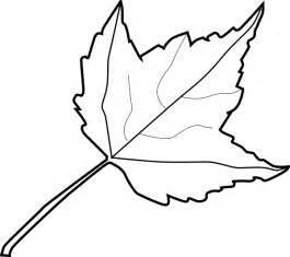 Outline Drawing Of A Leaf by Maple Leaf Outline Clip At Clker Vector Clip Royalty Free Domain