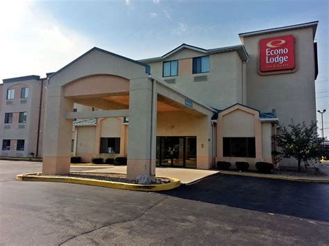 hotels in peoria il with in room econo lodge inn suites in peoria hotel rates reviews in orbitz