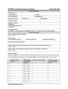 swppp templates fill online printable fillable blank