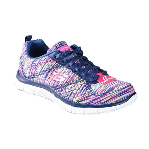 Sepatu Anak Skechersskecher Memory Foam jual skechers flex appeal lightweight lifestyle with memory foam sepatu lari ske12453nvmt