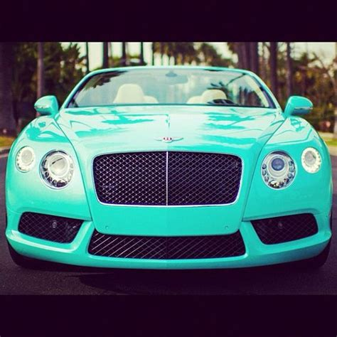 turquoise bentley ugh tiffany blue bentley