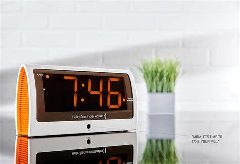 voice recording reminder alarm clock sharper image