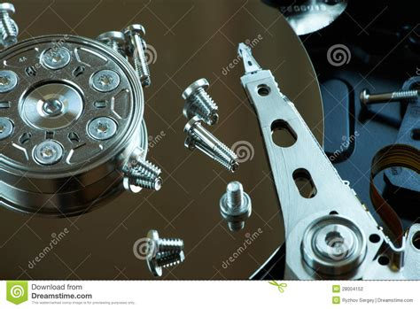 Repair Harddisk repair disk stock photography image 28004152