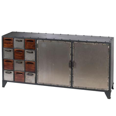 aparador estilo industrial aparador estilo industrial metal madera arcadia
