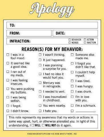 Apology Letter Worksheet Sorry Apology Worksheet Therapy Helps Counseling