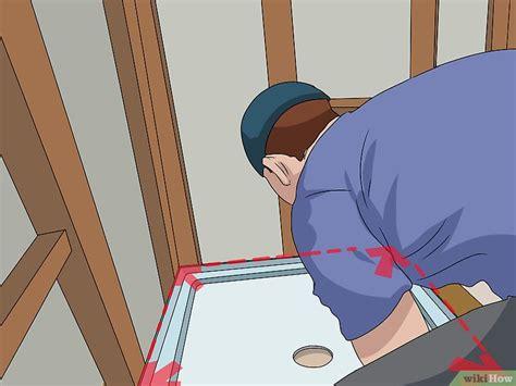 come montare un piatto doccia come montare un piatto doccia 10 passaggi illustrato