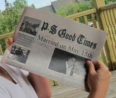 Wedding Anniversary Newspaper Gift by Best Gift Idea Anniversary Gift Ideas You Ll To