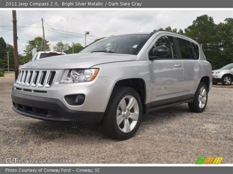 silver jeep compass bright silver metallic 2011 jeep compass 2 0