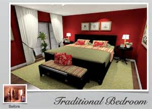 Red And Green Bedroom Ideas - gallery of inspirational decorating pictures and 3d rooms decorate it online