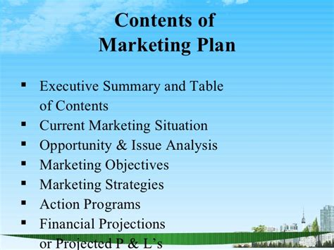Mba Marketing Plan by The Marketing Plan Ppt Bec Doms Bagalkot Mba