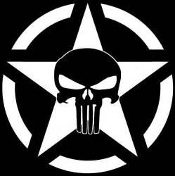 jeep punisher skull decal vinyl sticker