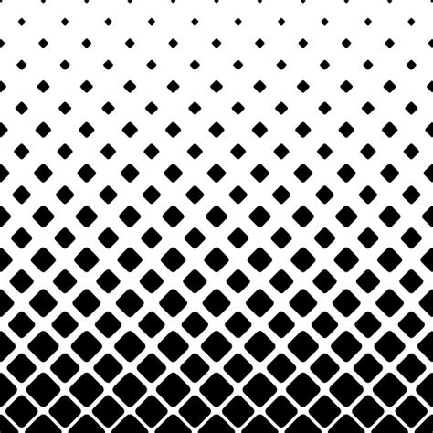 square dot pattern vector monochrome square pattern background geometric vector