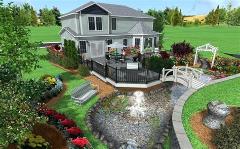 Outdoor Home Design Software Free by Landscaping Design Software Professional Landscape Design