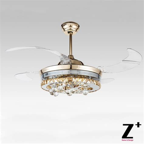 ceiling fans with chandelier crystals compare prices on ceiling fan chandelier