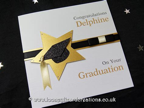 Handmade Graduation Cards - achievement handmade graduation card