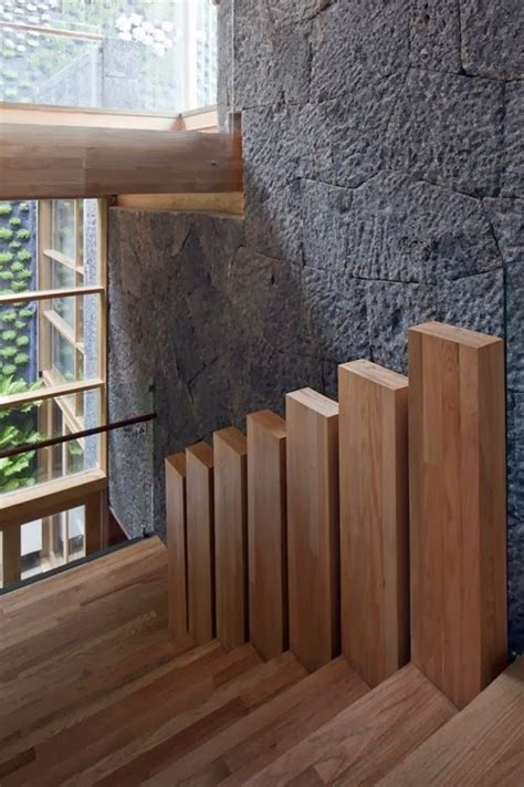 wooden types  stairs  modern homes