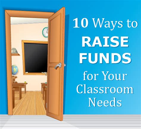 10 Easy Ways To Raise Money For Your School by 10 Ways To Raise Funds For Your Classroom Needs