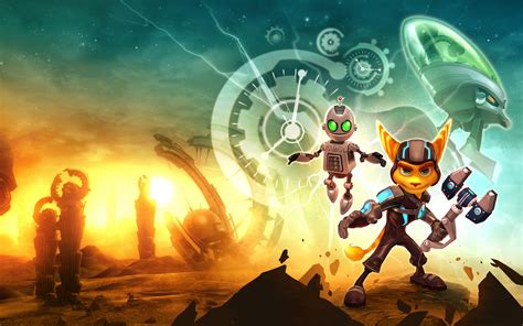 ratchet  clank wallpaper hd  images